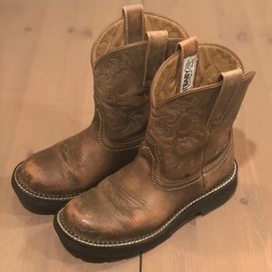 ARIAT | Fatbaby Brown Bomber Western Cowboy Boot